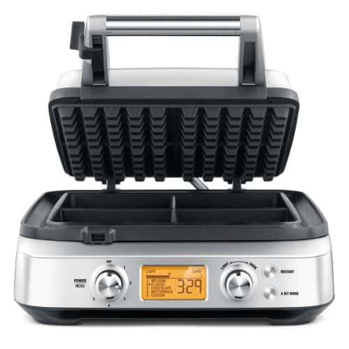 Breville BWM640XL Smart 4-Slice Waffle Maker