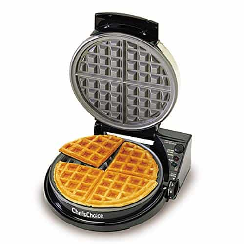 Chef'sChoice WafflePro Taste and Texture Select Nonstick Classic Belgian Waffle Maker