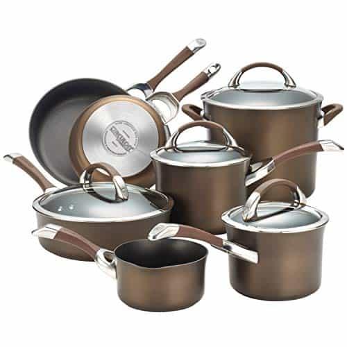 Circulon Symmetry Hard Anodized Nonstick Cookware Pots and Pans Set