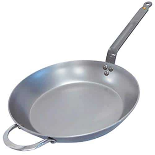De Buder Steel Fry Pan
