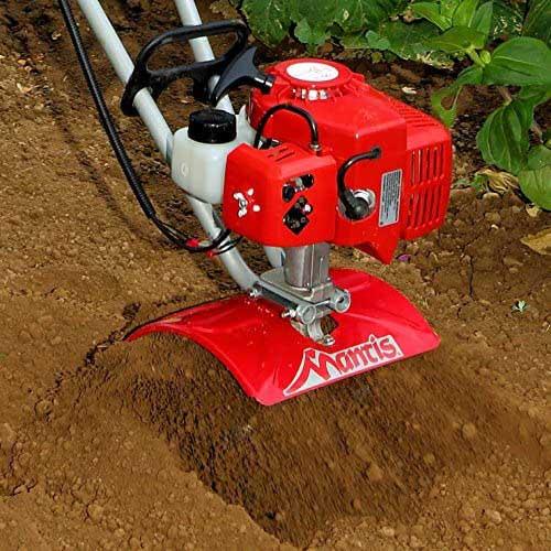 Tiller for Clay Soil